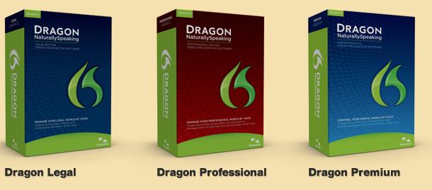 Dragon NaturallySpeaking Feature Matrix